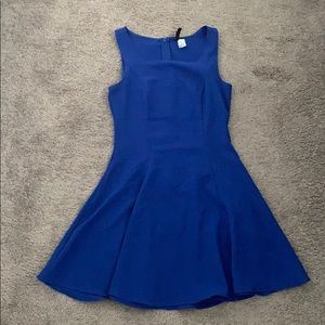 Fit and Flare Blue Dress from H&M.